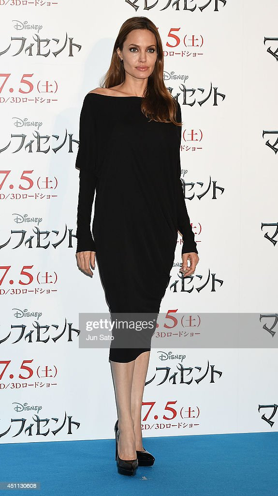 Angelina Jolie attends 'Maleficent' press conference for Japan premiere at Grand Hyatt Tokyo on June 24, 2014 in Tokyo, Japan.