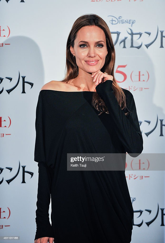Angelina Jolie attends 'Maleficent' press conference for the Japan premiere at Grand Hyatt Tokyo on June 24, 2014 in Tokyo, Japan.