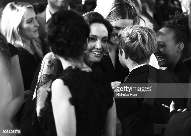 Angelina Jolie attends the 2018 National Board Of Review Awards Gala at Cipriani 42nd Street on January 9 2018 in New York City