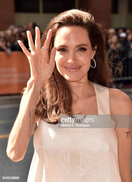 Angelina Jolie attends The Breadwinner premiere during the 2017 Toronto International Film Festival at Winter Garden Theatre on September 10 2017 in...