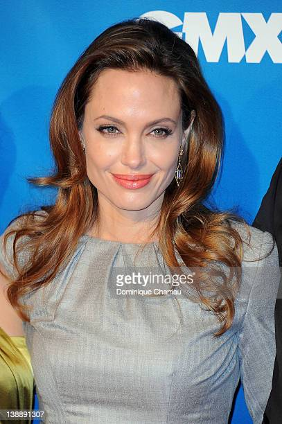 Angelina Jolie attends the Cinema for Peace Gala at the Konzerthaus Am Gendarmenmarkt during day five of the 62nd Berlin International Film Festival...