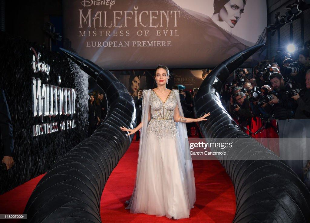 "European Premiere Of ""Maleficent: Mistress of Evil"" : News Photo"