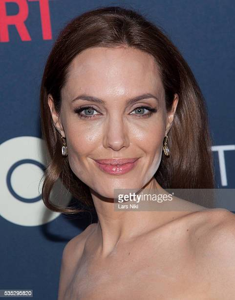 Angelina Jolie attends 'The Normal Heart' New York premiere at the Ziegfeld Theatre in New York City © LAN