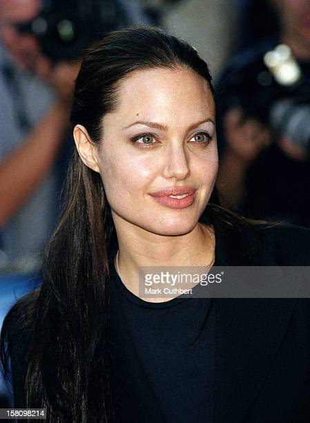 Angelina Jolie Attends The 'Tomb Raider' Uk Premiere In London'S Leicester Square
