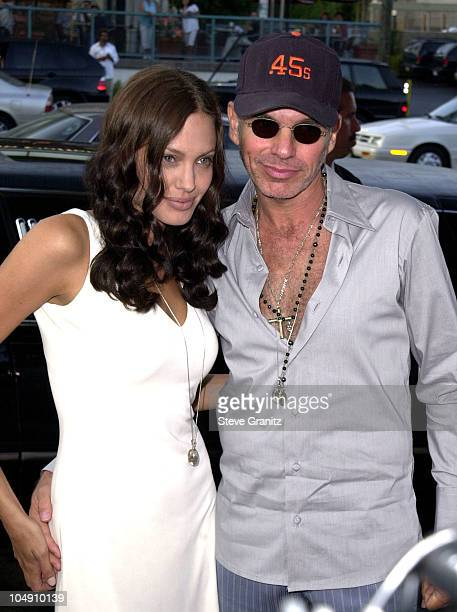 Angelina Jolie Billy Bob Thornton during 'Original Sin' Los Angeles Premiere at DGA Theater in Los Angeles California United States