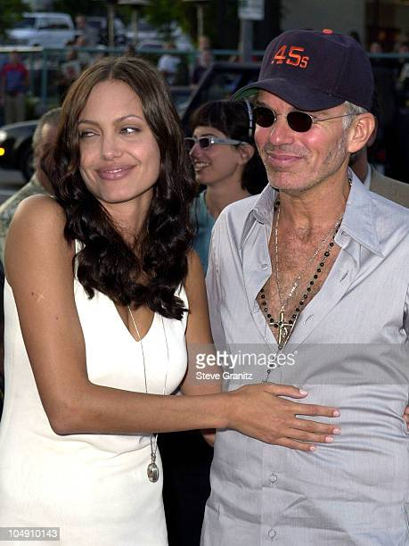 Angelina Jolie Billy Bob Thornton during Original Sin Los Angeles Premiere at DGA Theater in Los Angeles California United States