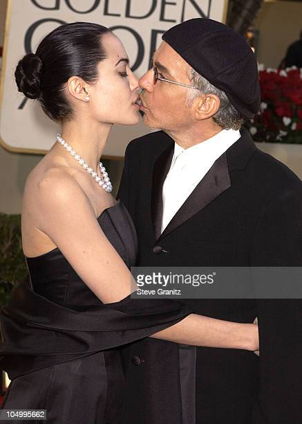 Angelina Jolie Billy Bob Thornton during The 59th Annual Golden Globe Awards Arrivals at The Beverly Hilton in Beverly Hills California United States