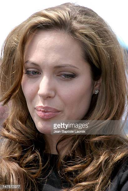 Angelina Jolie during 2004 Cannes Film Festival Various Celebrities in Cannes France
