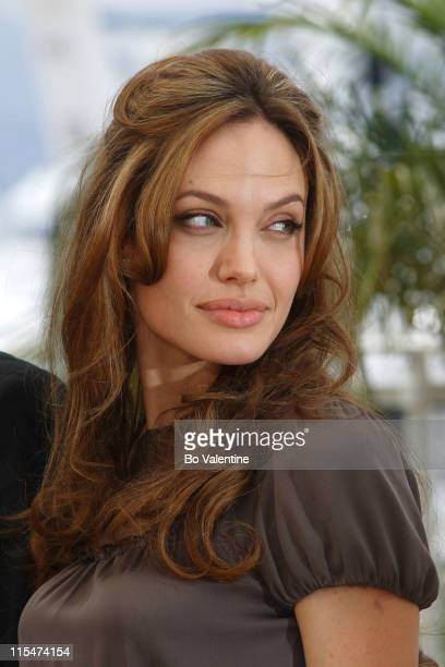 Angelina Jolie during 2007 Cannes Film Festival 'A Mighty Heart' Photocall at Palais des Festivals in Cannes France