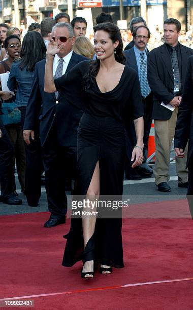 Angelina Jolie during Lara Croft Tomb Raider The Cradle of Life World Premiere at Grauman's Chinese Theatre in Hollywood California United States