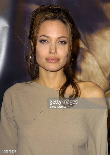 Angelina Jolie during 'Taking Lives' Los Angeles Premiere at Grauman's Chinese Theatre in Hollywood California United States