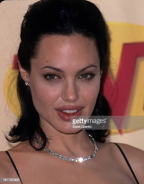 Angelina Jolie during The 6th Annual Screen Actors Guild Awards at Shrine Auditorium in Los Angeles California United States