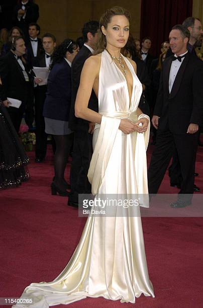 Angelina Jolie during The 76th Annual Academy Awards - Arrivals by Bill Davila at Kodak Theater at Hollywood and Highland in Hollywood, California,...