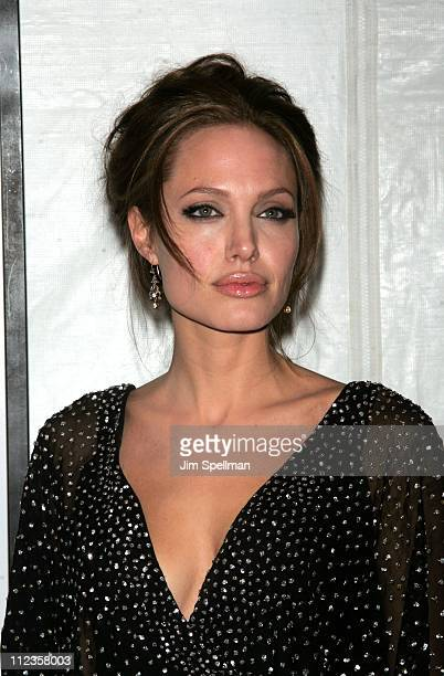 """Angelina Jolie during """"The Good Shepherd"""" - New York Premiere - Outside Arrivals at Ziegfeld Theater in New York City, New York, United States."""
