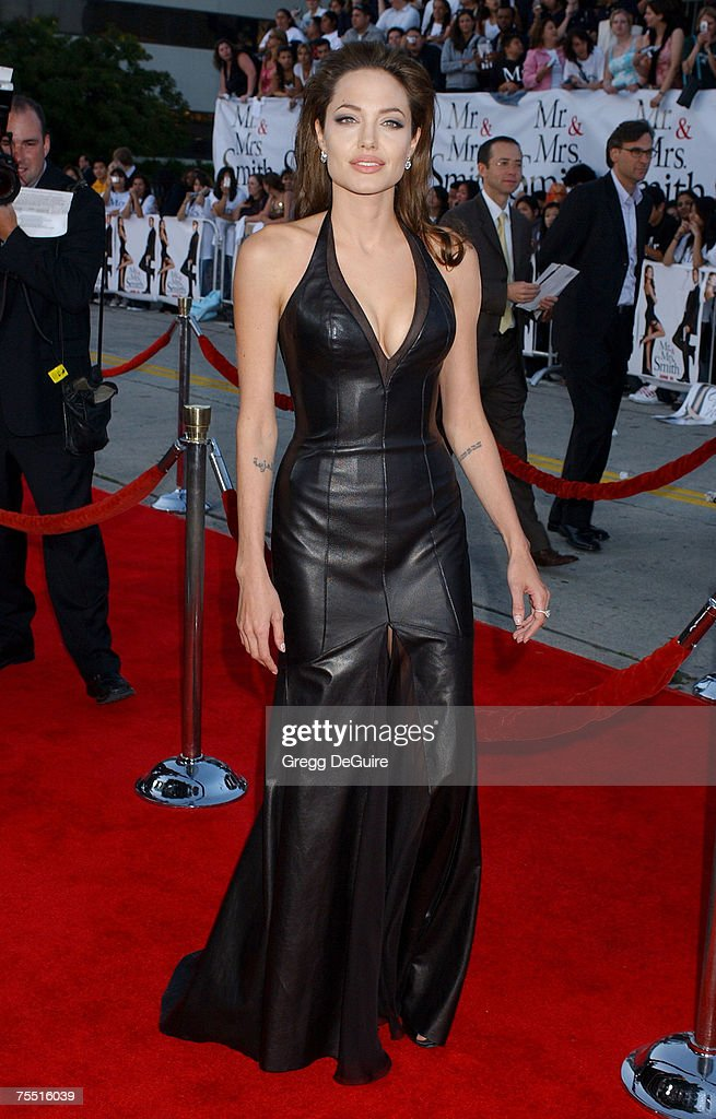 Angelina Jolie Mr And Mrs Smith Leather