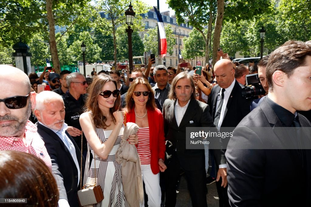 Angelina Jolie In Paris : News Photo
