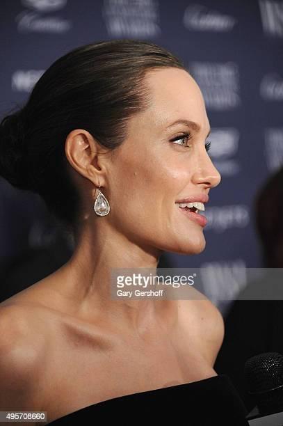 Angelina Jolie Pitt attends the 2015 WSJ Magazine Innovator Awards at the Museum of Modern Art on November 4 2015 in New York City