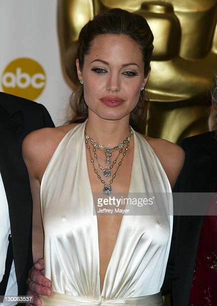 Angelina Jolie presenter for Achievement in Art Direction