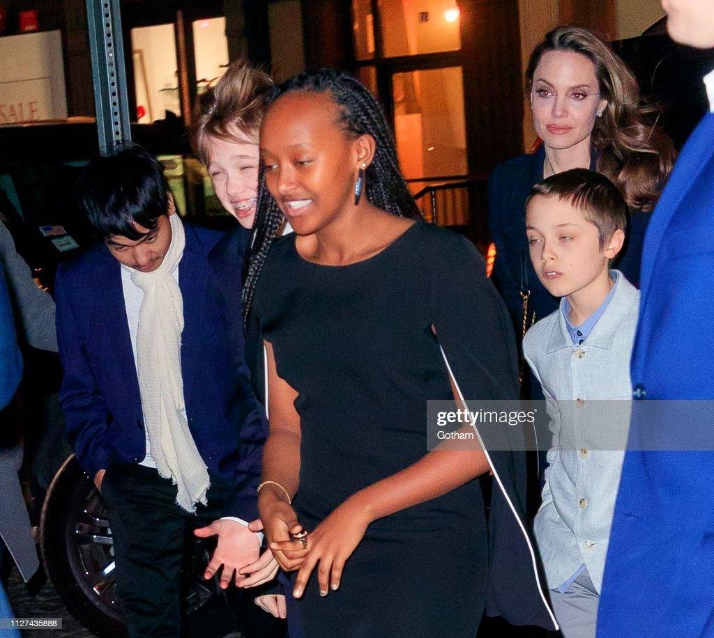 Celebrity Sightings In New York City - February 25, 2019 : News Photo