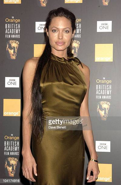 Angelina Jolie The Orange British Academy Film Awards 2003 At The Odeon Leicester Square London