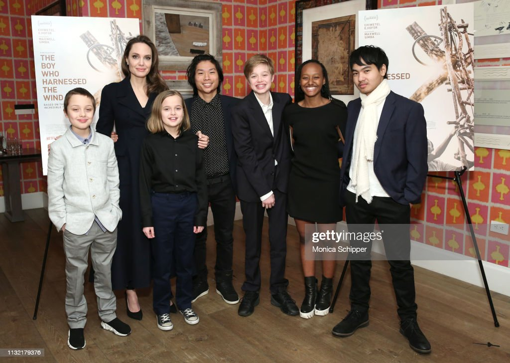 """The Boy Who Harnessed The Wind"" Special Screening, Hosted by Angelina Jolie : News Photo"