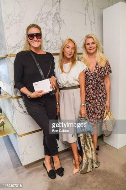 Angelina Jolin Isabella Pia Ayoub and Nina Junot attend a Brunch In Support Of The World Childhood Foundation USA hosted by Barneys New York on...