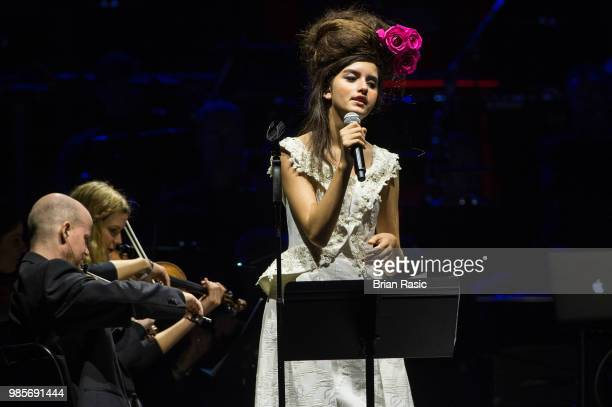 Angelina Jordan at A Life In Song Quincy Jones at The O2 Arena on June 27 2018 in London England