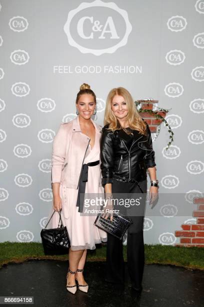 Angelina Kirsch and Frauke Ludowig attend the CA collection preview Spring/Summer 18 on October 26 2017 in Duesseldorf Germany CA presents their...