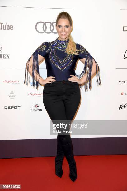 Angelina Kirsch attends the Channel Aid Concert at Elbphilharmonie on January 5 2018 in Hamburg Germany
