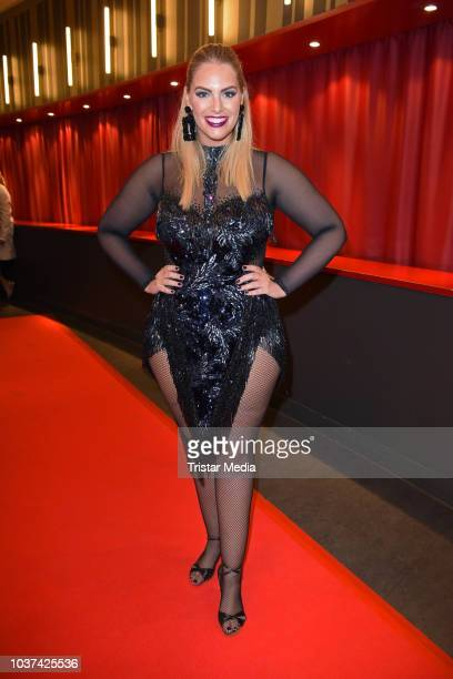Angelina Kirsch attends the 'Souldance The Show' world premiere at Admiralspalast on September 21 2018 in Berlin Germany