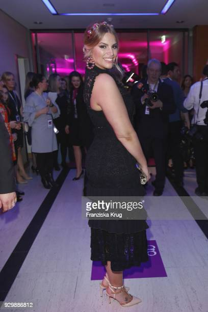 Angelina Kirsch during the Gloria Deutscher Kosmetikpreis at Hilton Hotel on March 9 2018 in Duesseldorf Germany