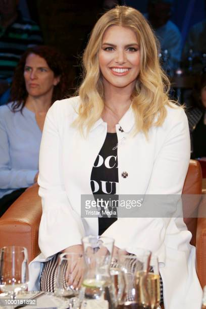 Angelina Kirsch during the NDR talk show on June 15 2018 in Hamburg Germany
