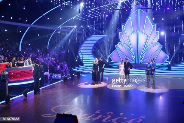Angelina Kirsch Massimo Sinato Vanessa Mai and Christian Polanc Vanessa Mai and Christian Polanc perform on stage during the final show of the tenth...
