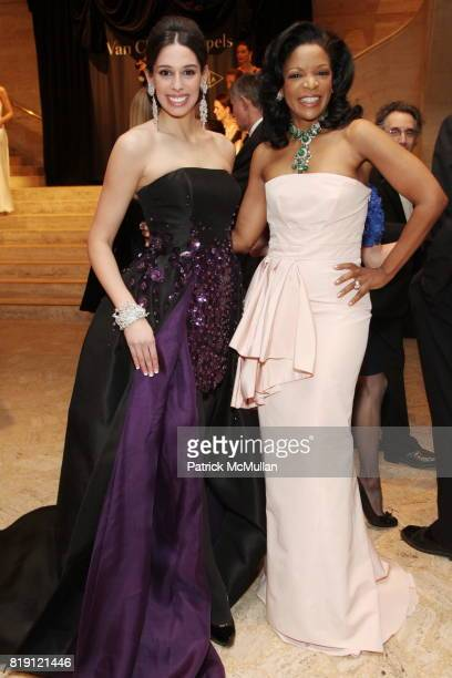 Angelina Leis and Pamela Joyner attend THE SCHOOL OF AMERICAN BALLET Winter Ball 2010 at David H Koch Theater on March 1 2010 in New York City