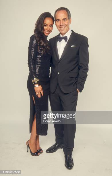 Angelina Lipman and CEO of Republic Records Monte Lipman attend the 62nd Annual Grammy Awards at Staples Center on January 26, 2020 in Los Angeles,...