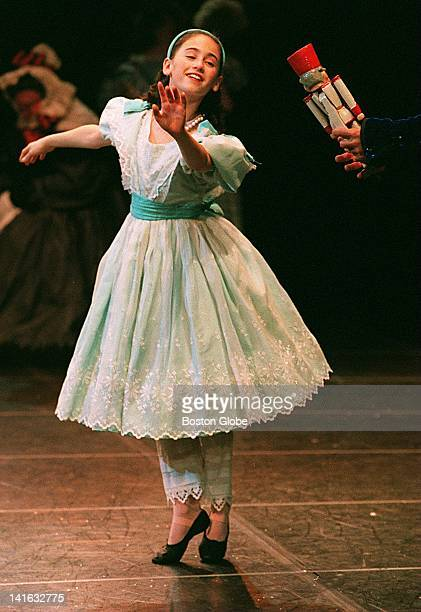 Angelina Mullins dances as Clara in 'The Nutcracker' put on by Boston Ballet