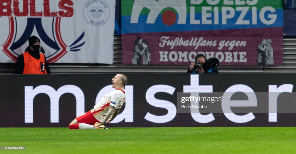 RB Leipzig v Manchester United: Group H - UEFA Champions League : News Photo