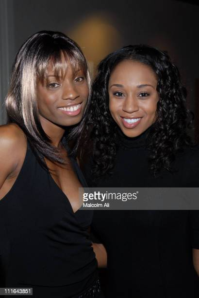 Angelique Bates and Zee James during Read To Succeed Literacy Gala at Renaissance Hollywood Hotel in Hollywood California United States