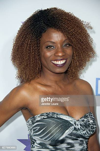Angelique Bates arrives at the 9th Annual Manifest Your Destiny Toy Drive and Fundraiser on December 5 2016 in Los Angeles California