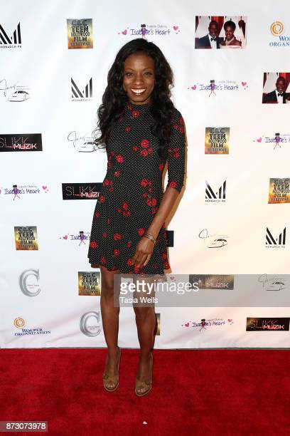 Angelique Bates at the 4th Annual CC Teen Hollywood Film Festival at Raleigh Studios on November 11 2017 in Los Angeles California