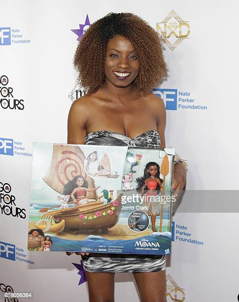 Angelique Bates attends the 9th Annual Manifest Your Destiny Toy Drive And Fundraiser on December 5 2016 in Hollywood California