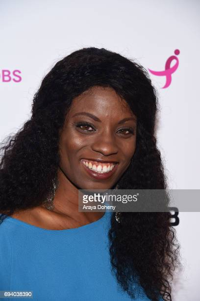 Angelique Bates attends the Susan G Komen LA presents 'Babes For Boobs' Live Bachelor Auction at El Rey Theatre on June 8 2017 in Los Angeles...