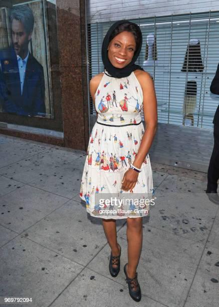 Angelique Bates is seen on June 07 2018 in Los Angeles California