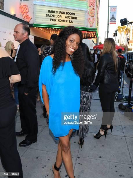 Angelique Bates is seen on June 08 2017 in Los Angeles California