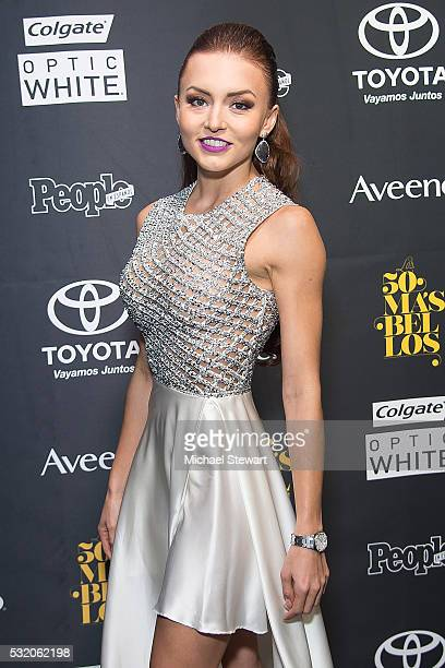 Angelique Boyer attends People En Espanol '50 Most Beautiful' at Espace on May 17 2016 in New York City
