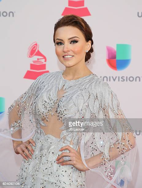 Angelique Boyer attends the 17th Annual Latin Grammy Awards on November 17 2016 in Las Vegas Nevada
