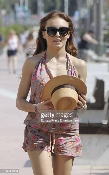 Angelique Boyer is seen on October 4 2016 in Marbella Spain