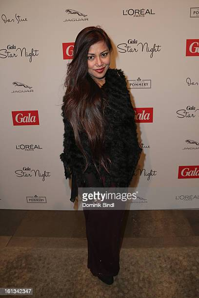 Angelique Brando attends the Gala Star Night during the 63rd Berlinale International Film Festival at the Stue Hotel on February 9 2013 in Berlin...