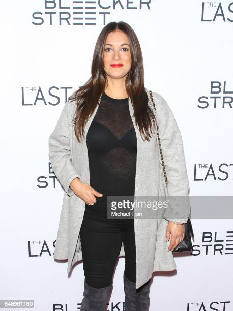 Angelique Cabral arrives at the Los Angeles premiere of The Last Word held at ArcLight Hollywood on March 1 2017 in Hollywood California