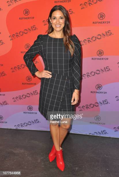 Angelique Cabral attends Refinery29's 29Rooms Los Angeles 2018 Expand Your Reality at The Reef on December 04 2018 in Los Angeles California